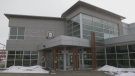 Timmins Police Service headquarters. May 14/20 (Lydia Chubak/CTV Northern Ontario)
