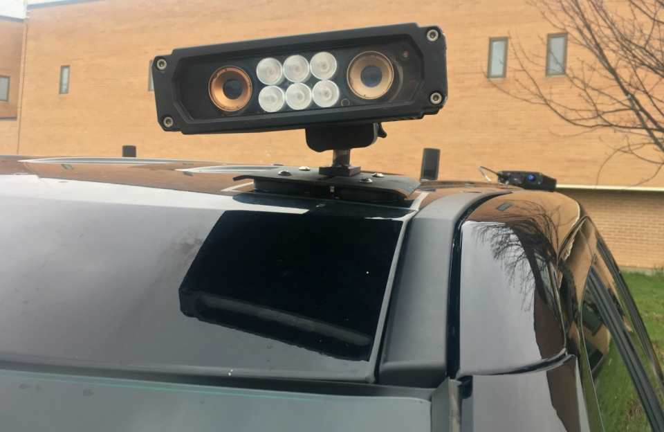 Police in Greater Sudbury say an automated license plate scanner installed on a cruiser has done more than just help them catch people driving without a license. (Alana Everson/CTV Northern Ontario)