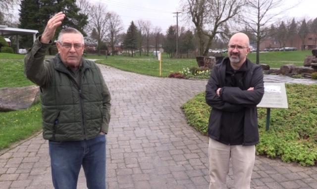 Phil Englishman and Bruce Davidson