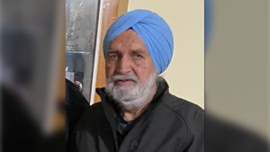 Delta police are asking the public to keep an eye out for 88-year-old Jarnail Sanghera who left his family home on May 15 and did not return.
