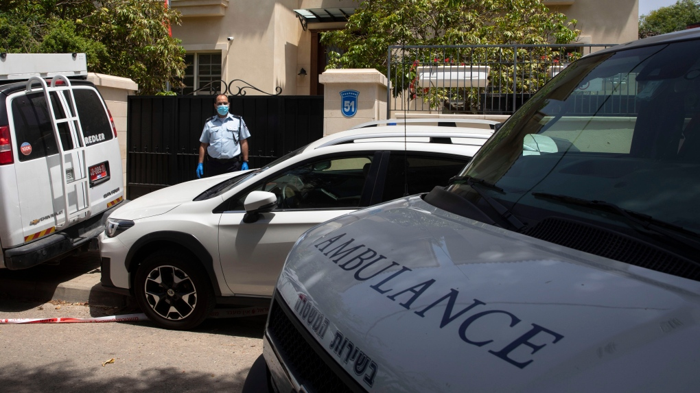 China's ambassador to Israel found dead in Tel Aviv home