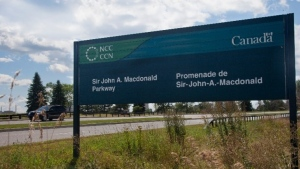 The NCC is closing the Sir John A. Macdonald Parkway on weekends in May (Photo courtesy: Twitter: NCC_CCN)