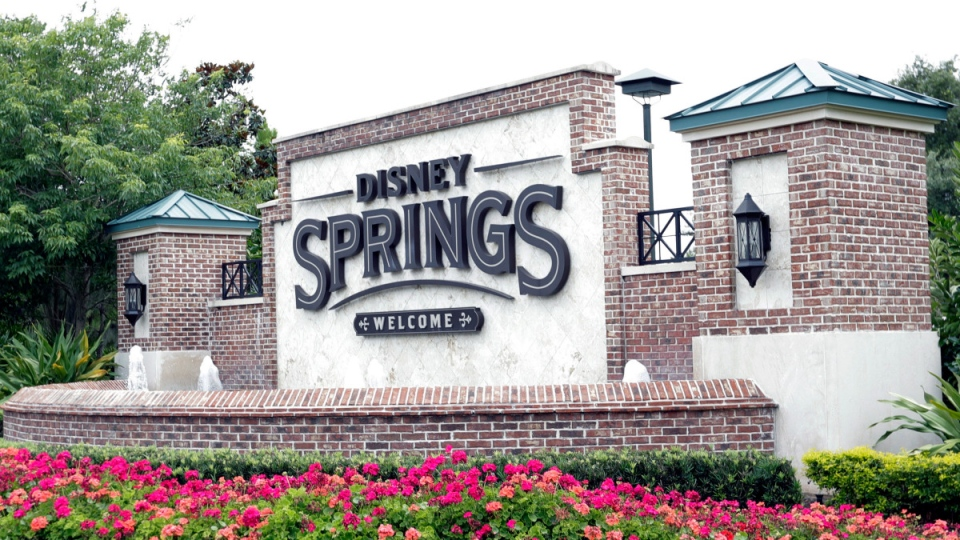 Disney Springs in Lake Buena Vista, Fla.