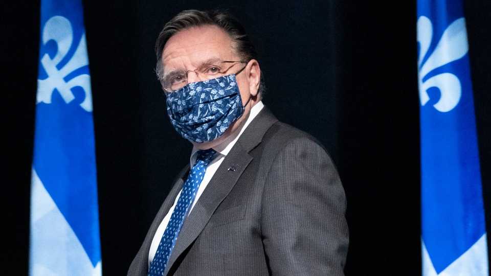Quebec Premier Francois Legault (File photo, The Canadian Press file photo)