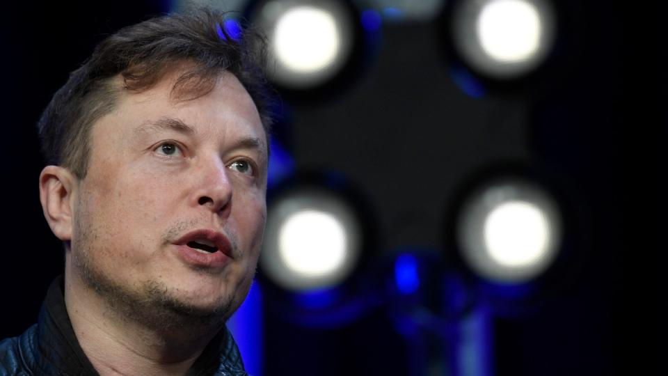 Elon Musk in Washington in March, 2020