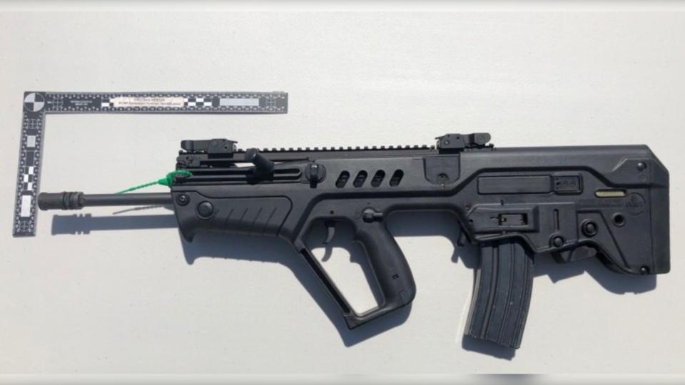 RCMP gun Sask.