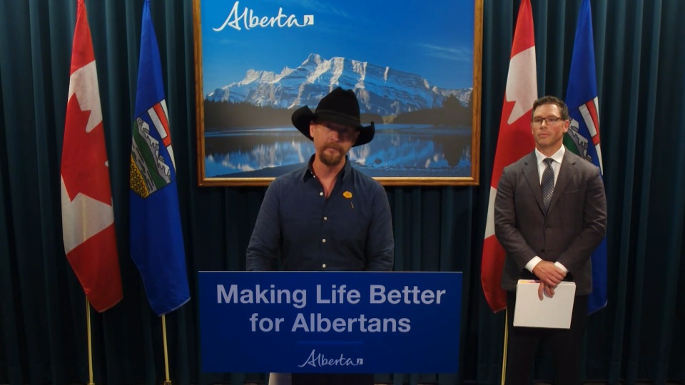 Paul Brandt, Alberta, human trafficking