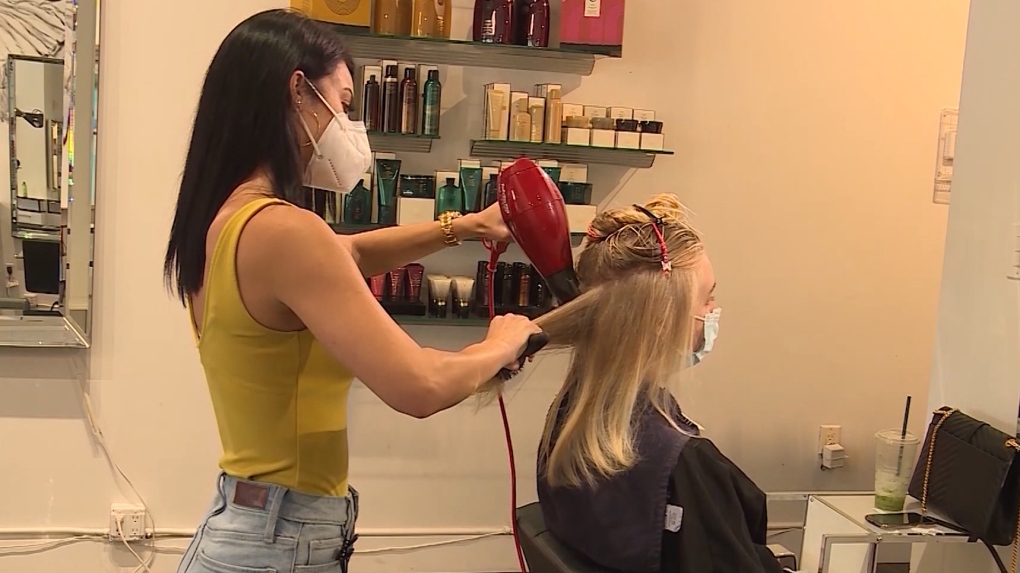 Salons reopen