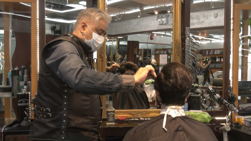 Many hair salons have reopened in Metro Vancouver and some are charging a little extra to cover new costs related to the pandemic. (File photo)