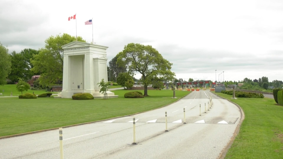 Peace Arch crossing