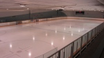 The Minto Arena is open for pro players and high-level figure skaters.