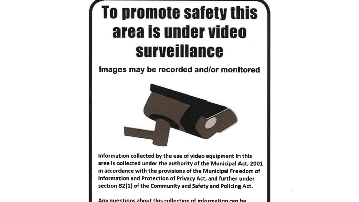 CCTV camera project in St. Thomas