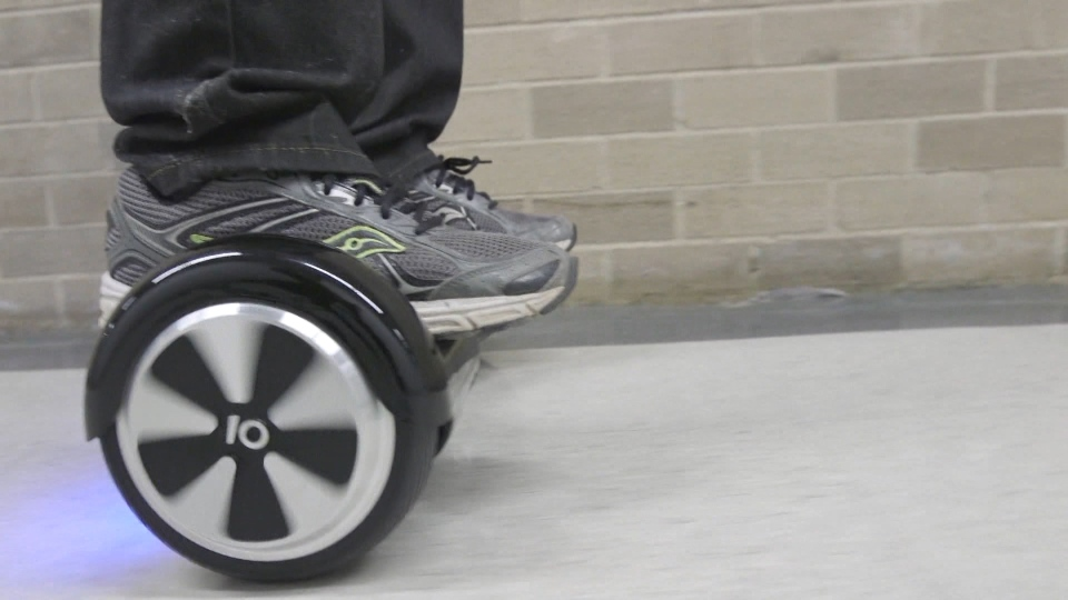 New toys like hoverboards can be dangerous if kids are left unsupervised.
