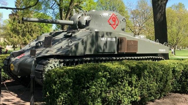 'Holy Roller' Sherman tank is seen in London, Ont.