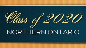 Class of 2020 Northern Ontario button