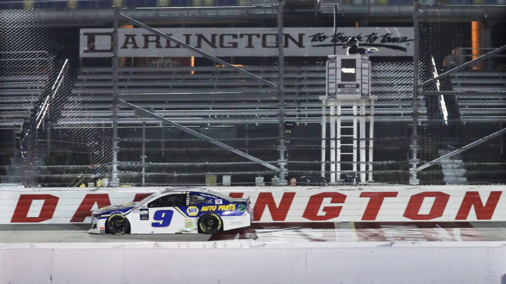 Chase Elliott in Darlington, S.C.