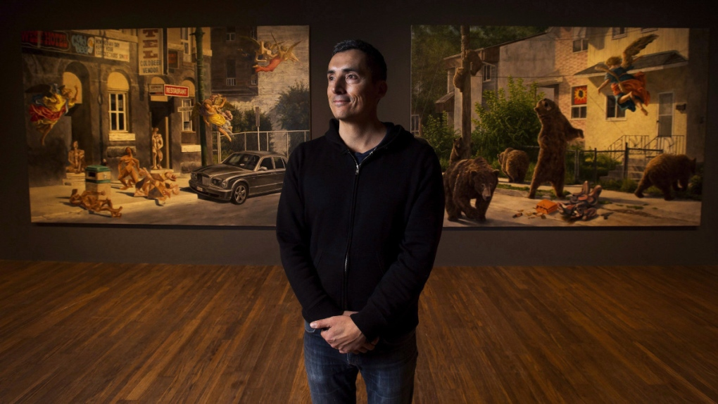 Kent Monkman in Toronto in 2017
