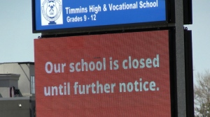 Of the 35 schools in District School Board Ontario North East, around half are looking at holding virtual grad ceremonies, says Lesleigh Dye, director of the public school board in Timmins. (Sergio Arangio/CTV News)