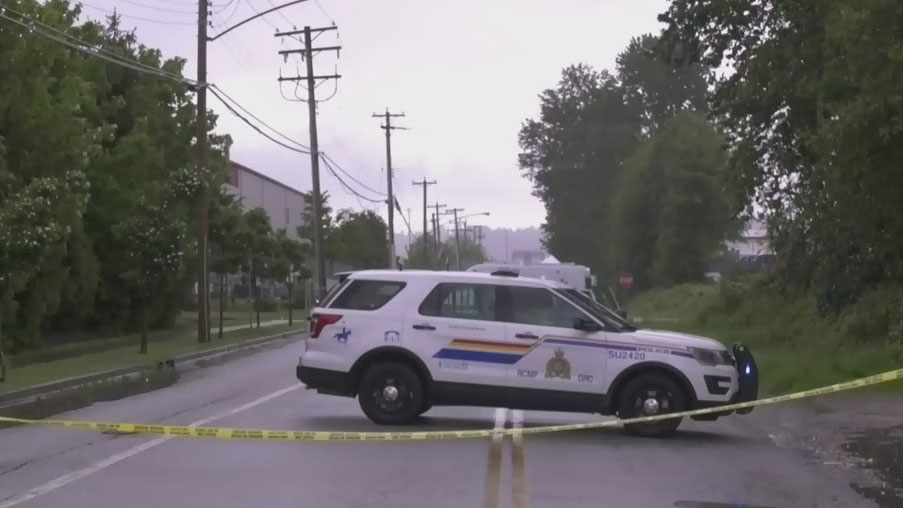 Pedestrian dead in Surrey hit-and-run
