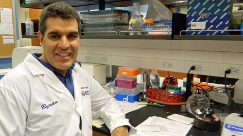 University of Guelph pathobiology professor Byram Bridle. (Photo: University of Guelph) (May 21, 2020)
