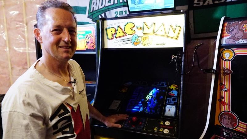 Greg Sakundiak hit 3,333,360 points in PAC-Man this week, as the video game turned 40 years old.