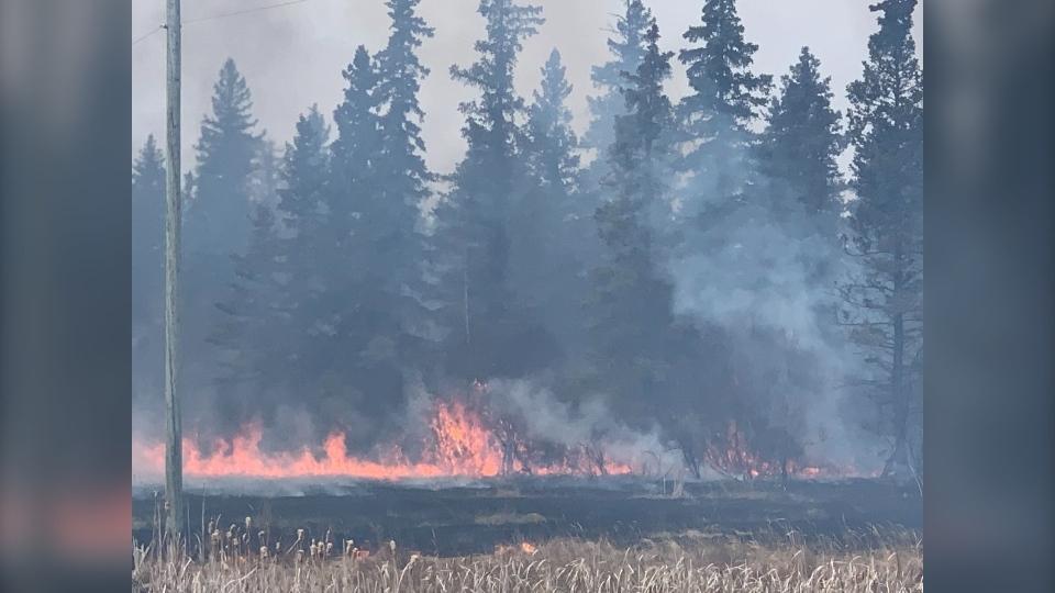 Camperville fire