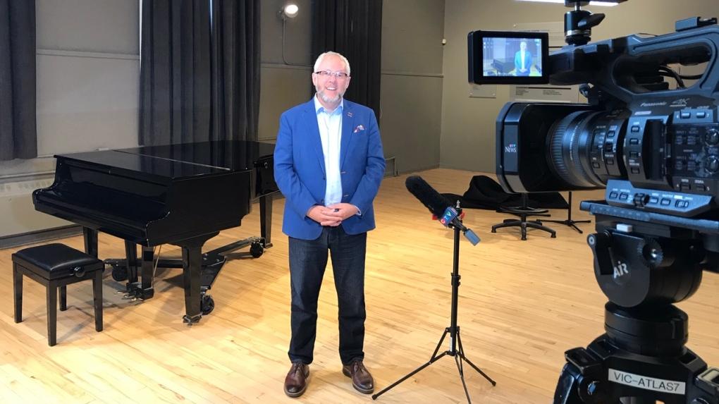 Pacific Opera Victoria CEO Ian Rye