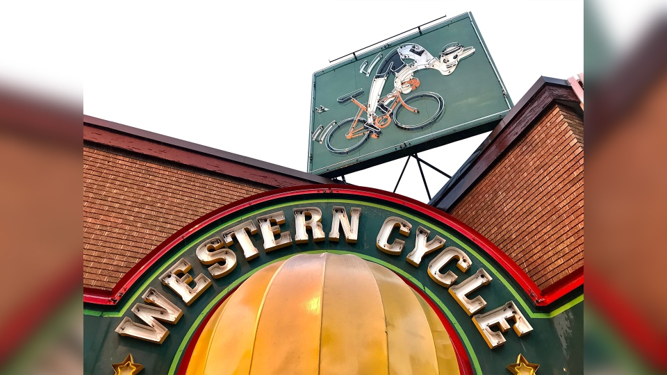 Western Cycle. (Sean Amato/CTV News Edmonton)