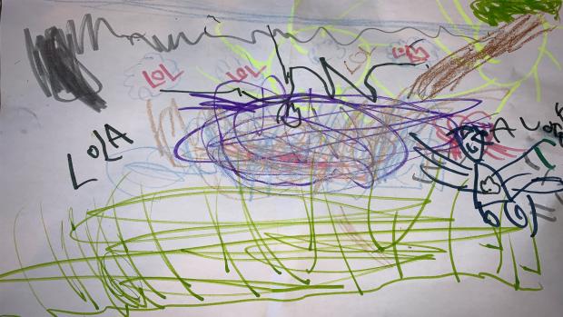 'Climate Craziness'<br/> Audrey Bresee-Edjoc, 5 years old, Junior Kindergarten, St. Thomas More School