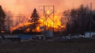 Fire broke out at two industrial sites in N.B.