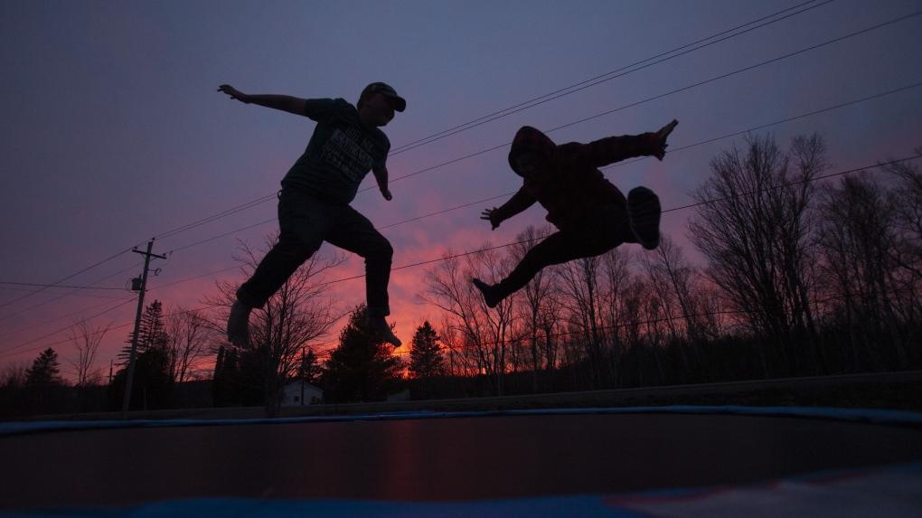 Hospital warns of trampoline dangers