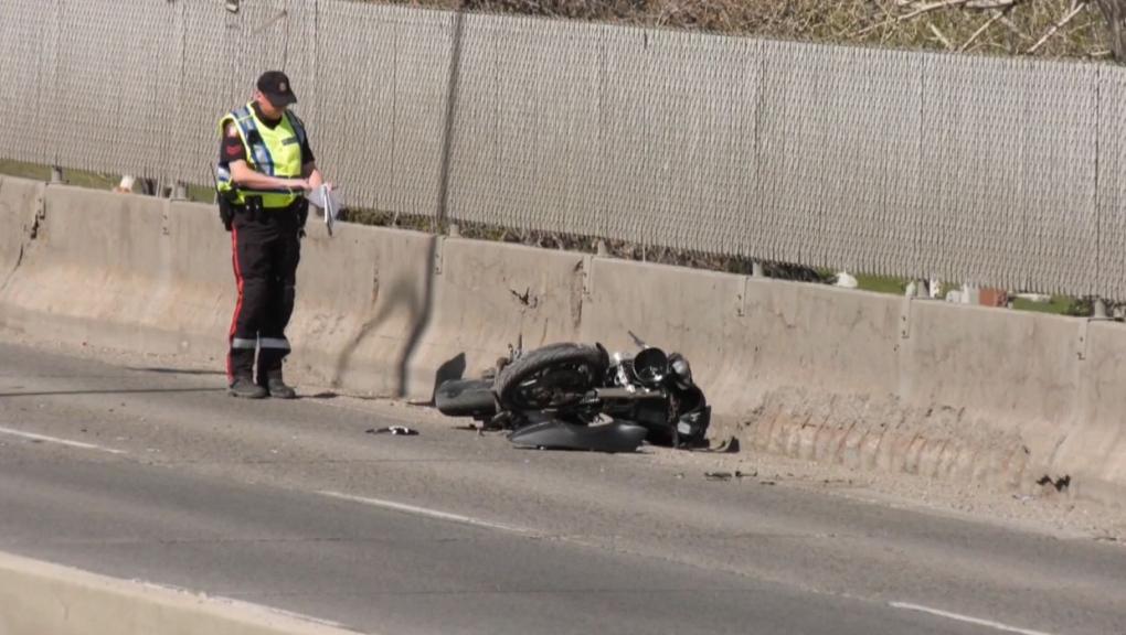 motorcycle, fatal, macleod trail, crash, spiller r