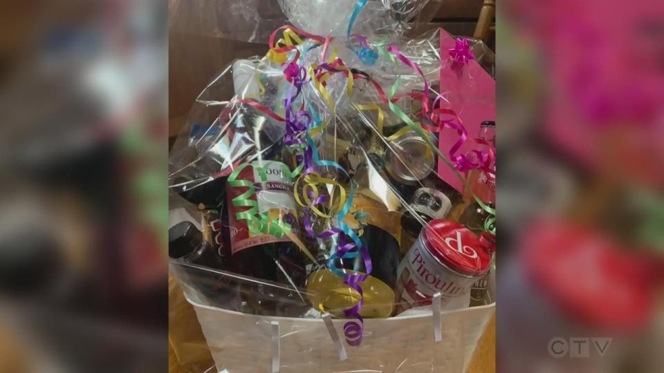 Wine Ninja gift bag