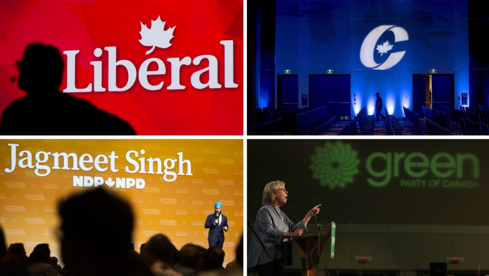 liberal conservative ndp green