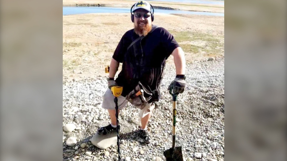 Chris MacDonald says metal detecting is a fun way to stay active. (Photo courtesy Chris MacDonald)