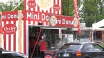 PNE CEO Shelley Frost said the mini doughnut drive-thru offers optimism during this time of uncertainty.