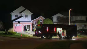 A fire at a home in Guelph caused significant damage. (CTV Kitchener/Terry Kelly)