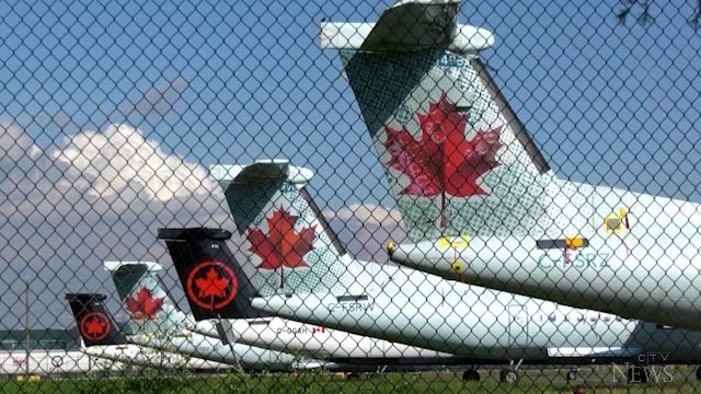 Hard hit by the COVID-19 pandemic, Air Canada announced Tuesday it is suspending service on 30 domestic regional routes, including from North Bay. (File)