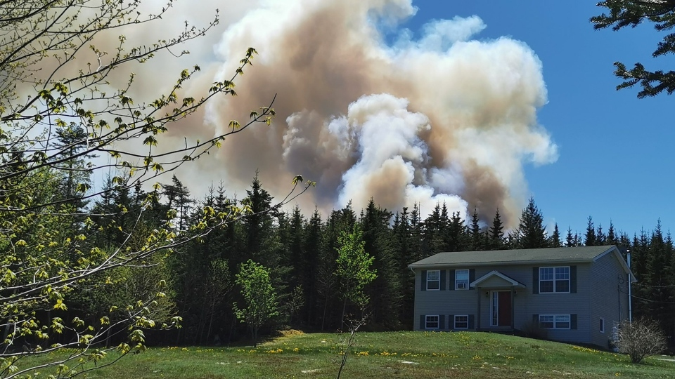 Porters Lake Fire on May 23 2020 #2