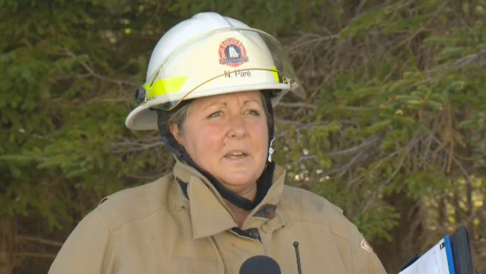 Halifax Fire assistant chief, Nadya-Lyse Paré