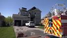 Fire rips through home in Essa Township