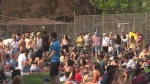 Large crowds were seen at Trinity Bellwoods Park on Sunday, May 24, in apparent violation of social distancing guidelines. Calgary Mayor Naheed Nenshi asked Calgarians not to be like Toronto Tuesday.