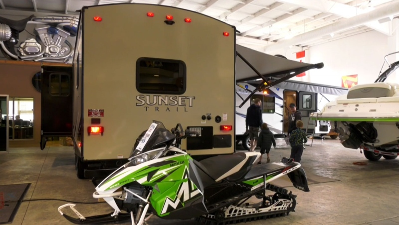 RV dealerships throughout southern Alberta have seen a lot more customers now that vacation plans have changed because of COVID-19.
