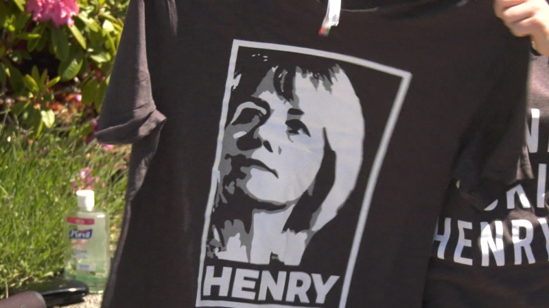 Bonnie Henry shirts fly off shelves