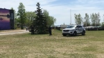 One day after pictures showed hundreds of people at the Aylmer Marina, Gatineau Police increased patrols at the popular destination. (Leah Larocque/CTV News Ottawa)