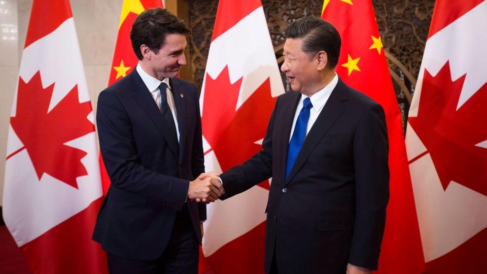 Trudeau Xi