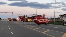 STARS Air Ambulance was called to a single-vehicle crash in Leduc on May 24. (Sourc: RCMP)
