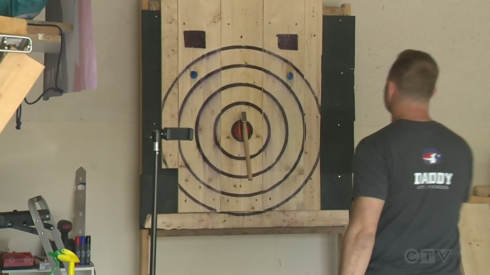 axe throwing virtual