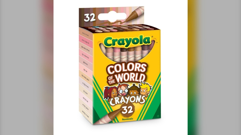 Crayola releases new set of skintone colours