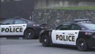 Police standoff at Victoria apartment building